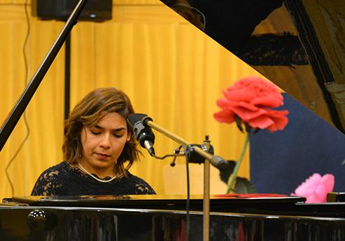Клавирен концерт на италианска звезда в Двореца