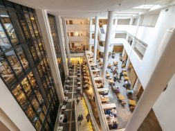 Readers in The British Library