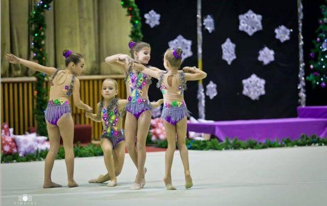 Великолепната Сияна Борисова завоюва златен медал на международен турнир по художествена гимнастика