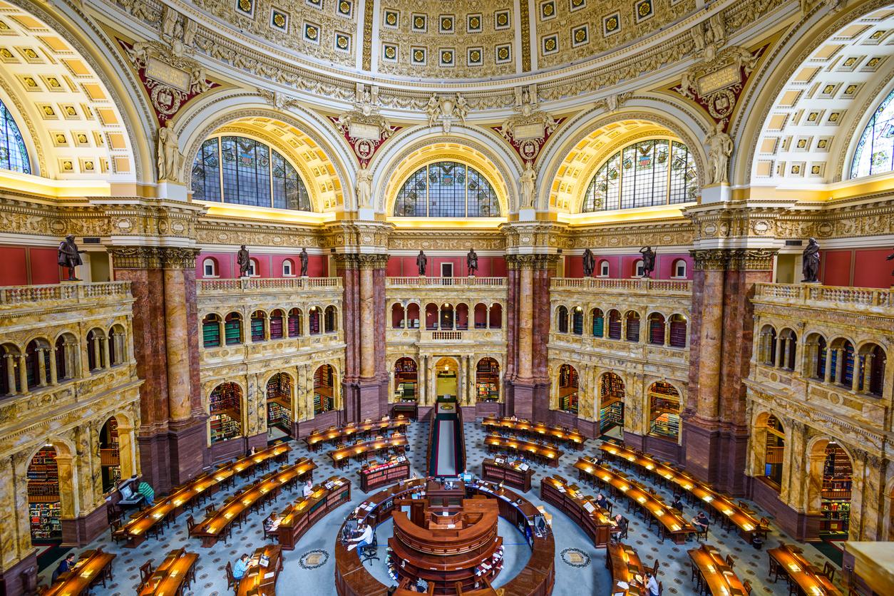 Едни от най – красивите библиотеки в света