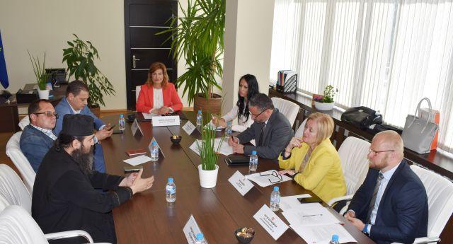Ирена Соколова събра директорите на ЧЕЗ и кметове на общини на годишна среща
