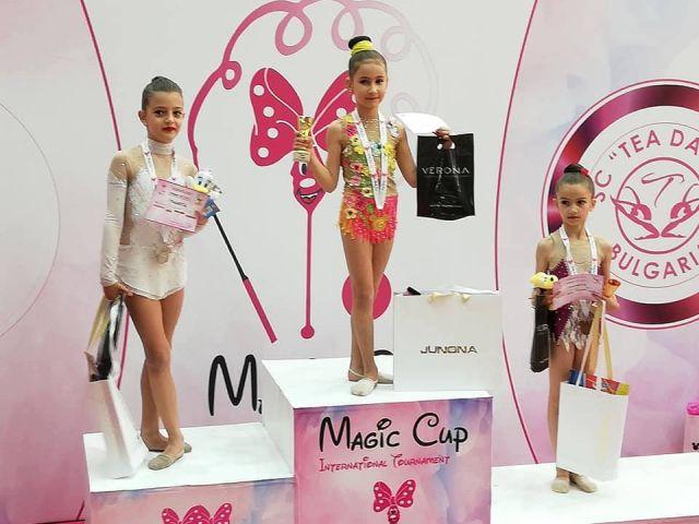 Малките ни гимнастички отново завладяха публиката в страната