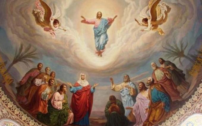 Почитаме Възнесение Господне или Спасовден