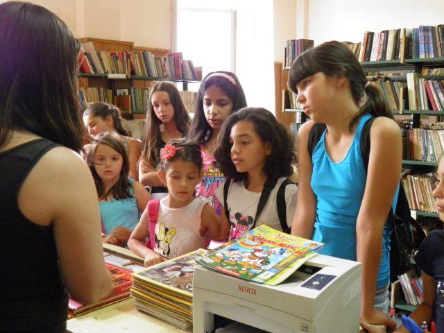 Старт на летните занимания в библиотеката