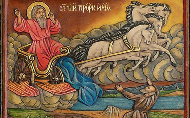 Свети пророк Илия-покровител на светкавиците и гръмотевиците