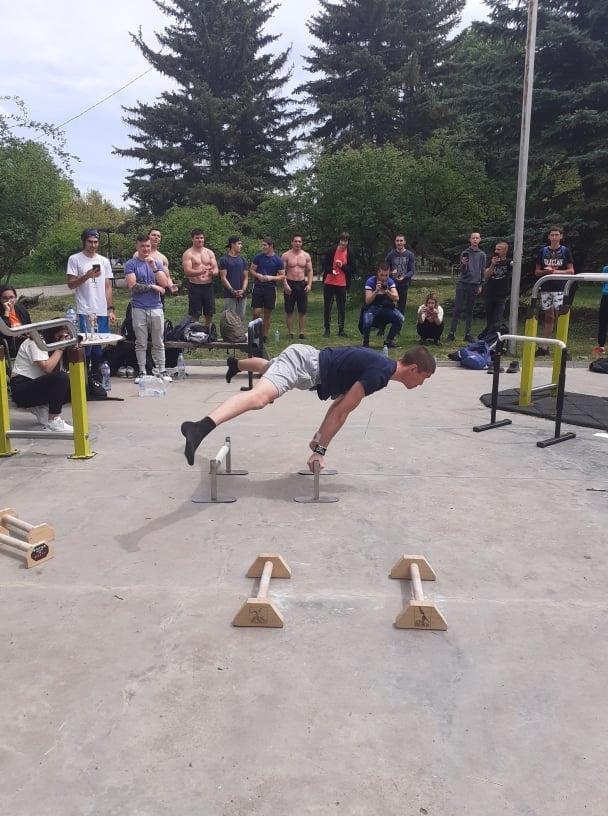 Стрийт фитнес турнир по случай Деня на спорта